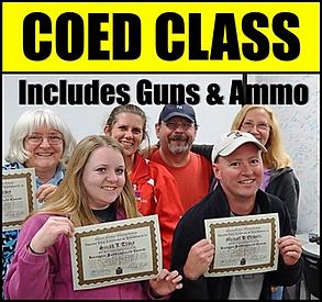 Coes handgun fundamental class at Frontier Firearms near Knoxville TN in Kingston
