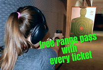 At Frontier Firearms get a FREE Range Pass when you sign up for our Concealed Carry Class