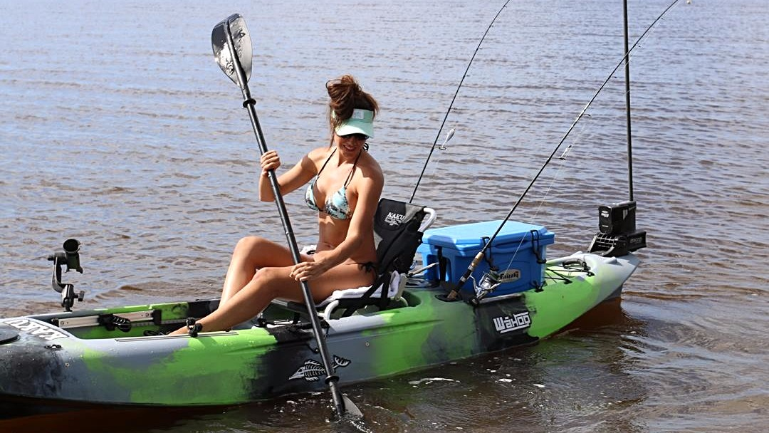 Ladies love the ease of paddling