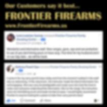 Frontier's customers say it best