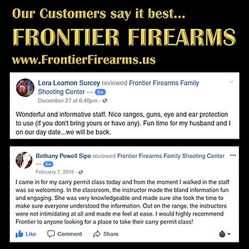Frontier's customers say it best