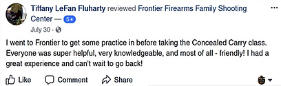 Friendly folks at Frontier Firearms