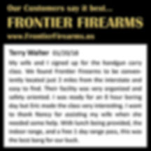 Great review of Frontie Firearms USA