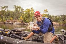 Nucanoe Frontier year round bass fishing