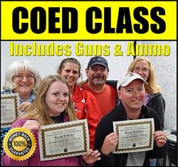 Frontier Firearms COED Gun Class