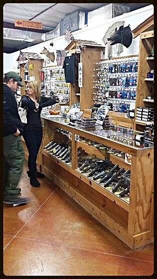 Enjoying shopping at Frontier Firearms Family Shooting Center near Knoxville TN
