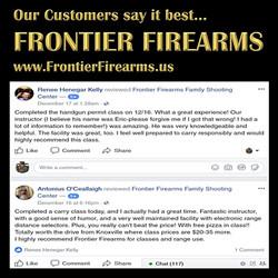 Frontier Firearms customers speak out