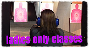 Ladies and Coed Gun Classes at Frontier Firearms in Kingston near Knoxville, TN.