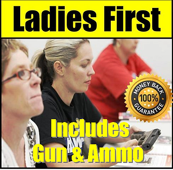 Ladies First Class at Frontier Firearms
