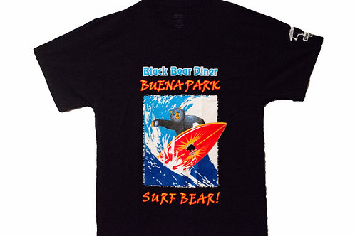 VIntage Black Bear Buena Park Surf Bear Tee