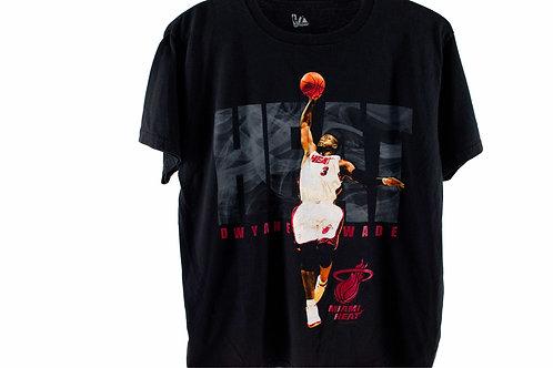 Vintage Dwayne Wade Miami Heat Tee