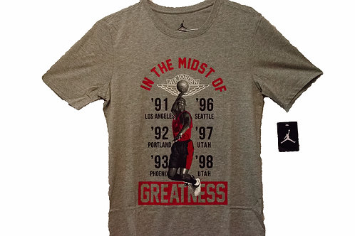 "Vintage Jordan ""In the Midst of Greatness"" Tee"