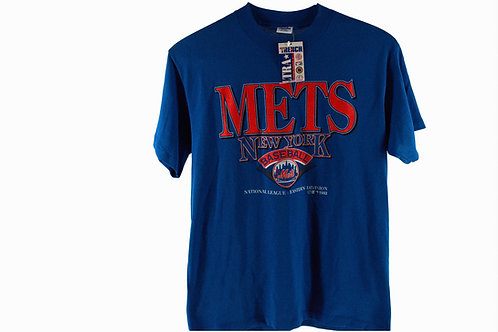 Vintage 90's New York Mets Baseball Tee