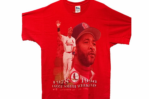 Vintage 96' Ozzie Smith St. Louis Cardinals Weekend Tee