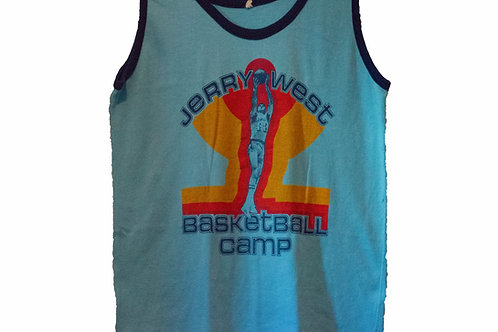 Vintage Jerry West Basketball Camp Tee
