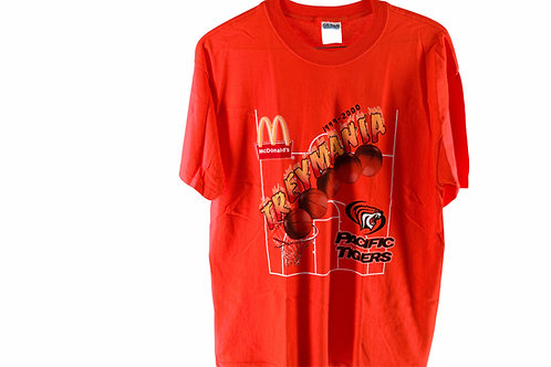 Vintage 99' McDonalds Treymania Stockton Pacific Tigers Tee