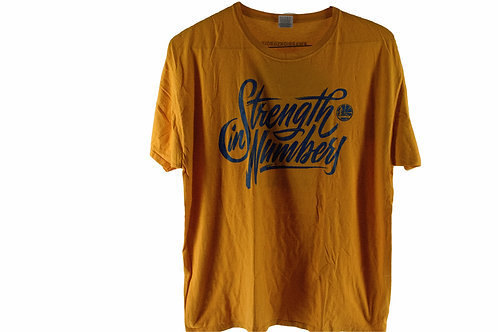 Vintage 2018 Golden State Warriors Strength in Numbers Tee