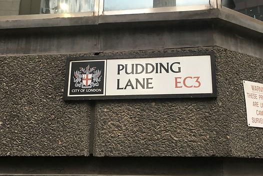 Pudding Lane EC3 London