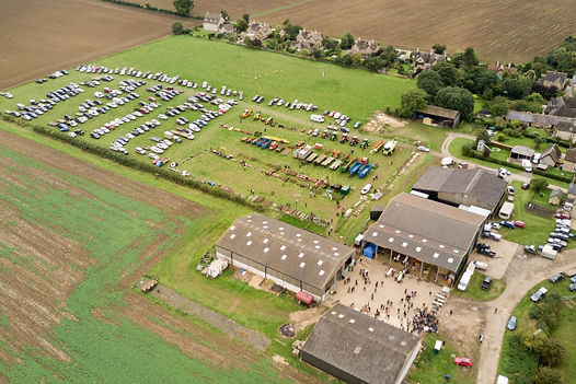 ​ Bletsoes Auction Drone Photo
