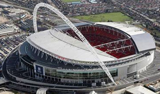 Wembley stadium by Drone