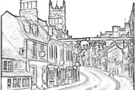 The George At Stamford Drawing