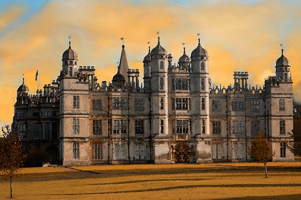 Burghley House Stamford Painting