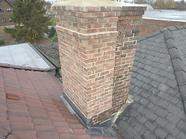 Drone UAV roof Chimney Inspections