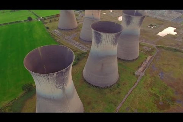 Drone Cooling Towers