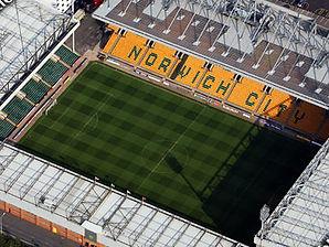 Norwich City Carrow Road Drone Photo