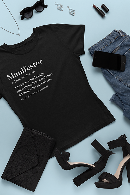 Manifestor Definition tee