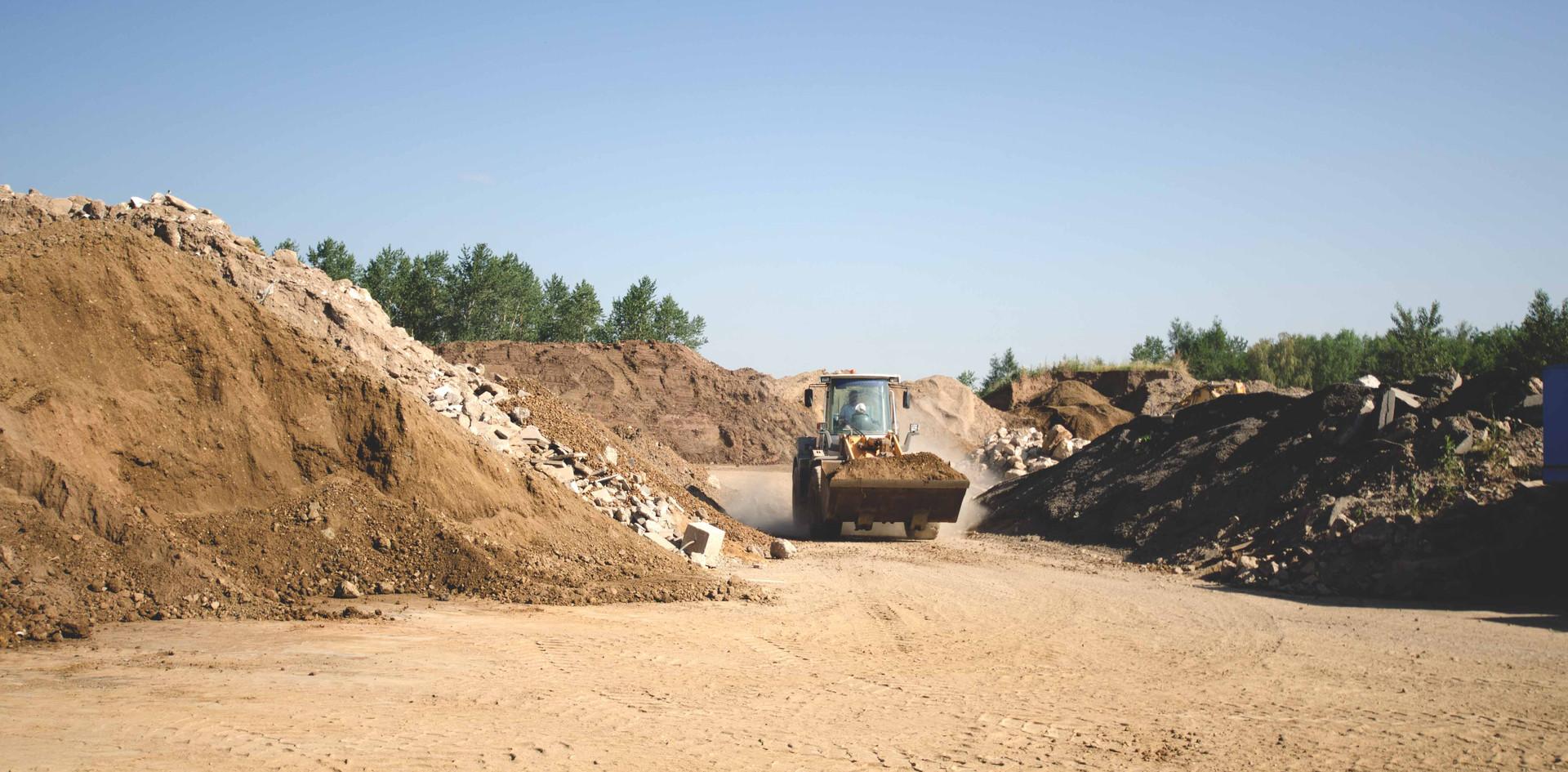 Recyclinganlage Strempt Mechernich Glasmacher und Söhne
