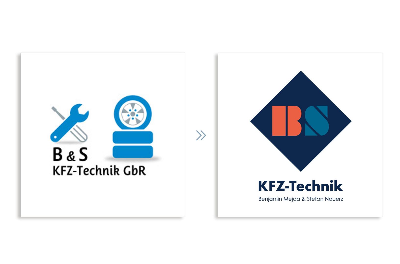 BS KFZ Technik Logo Relaunch Romy Linden