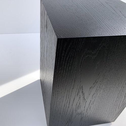 Charles Stool / Table - Black Oak