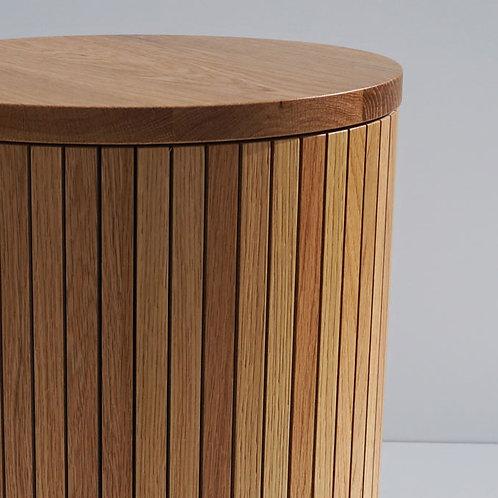 Marlee Stool / Table - Clear Oak