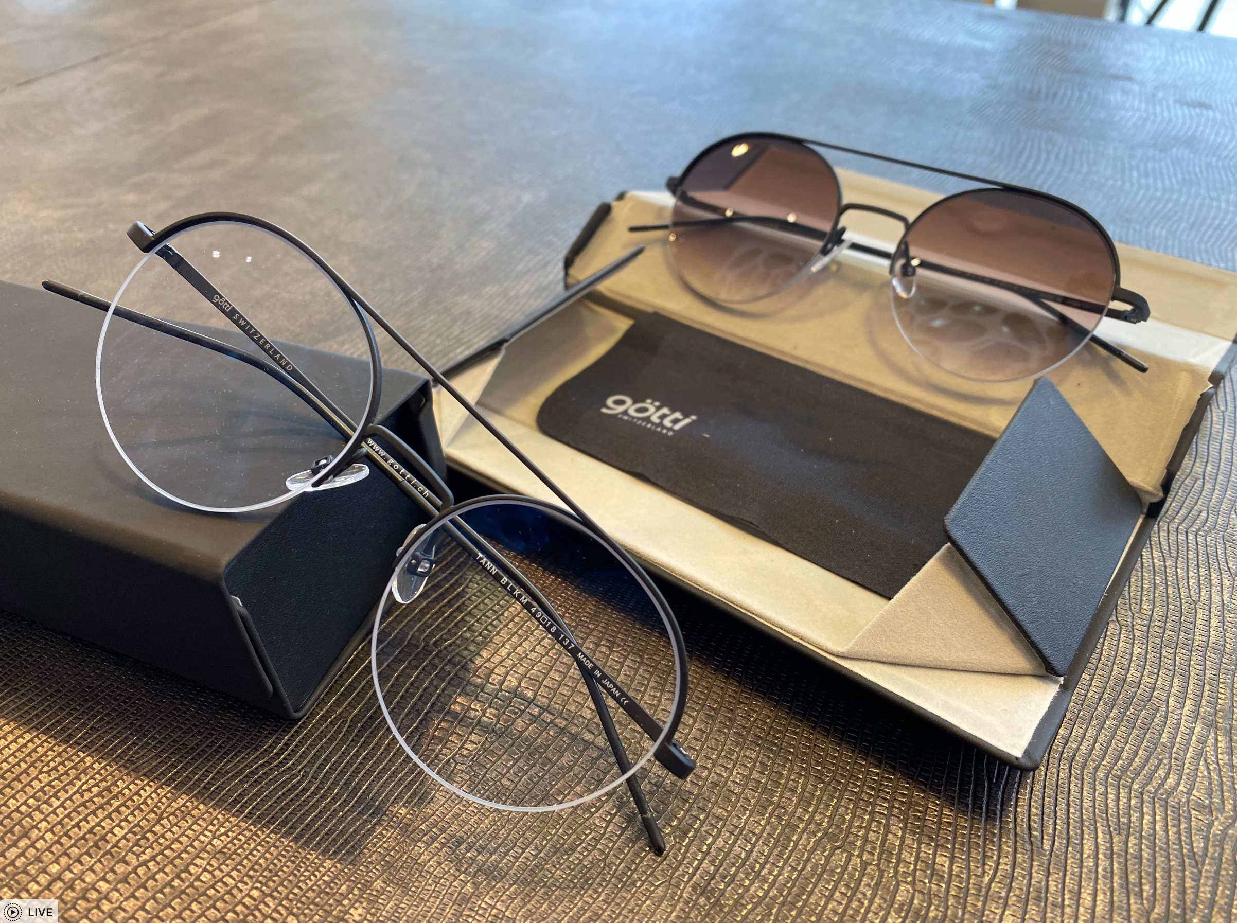 Nieuwe bril / glazen met oogmeting