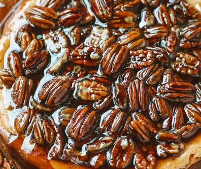 Gloriously Gooey Pecan Pie Cheesecake