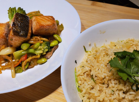 Sensational Salmon Stir-fry