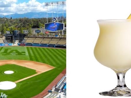 Los Angeles Dodgers Peppy Piña Colada Drink Recipe