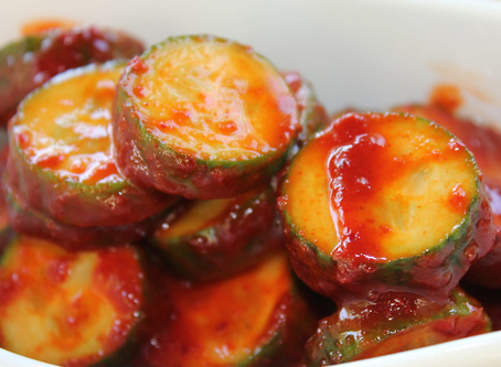 Cool and Crispy Cucumber Kimchi Recipe