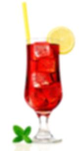 Red tea refreshing drink