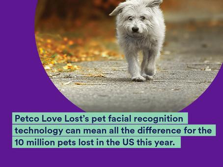 Petco's Love Lost pet facial recognition helps reunite lost pets
