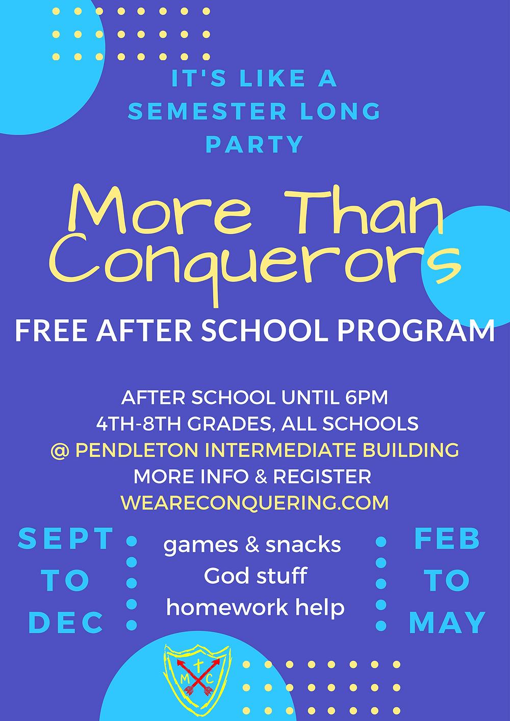 Spring Program runs Feb 26th-May 24th!