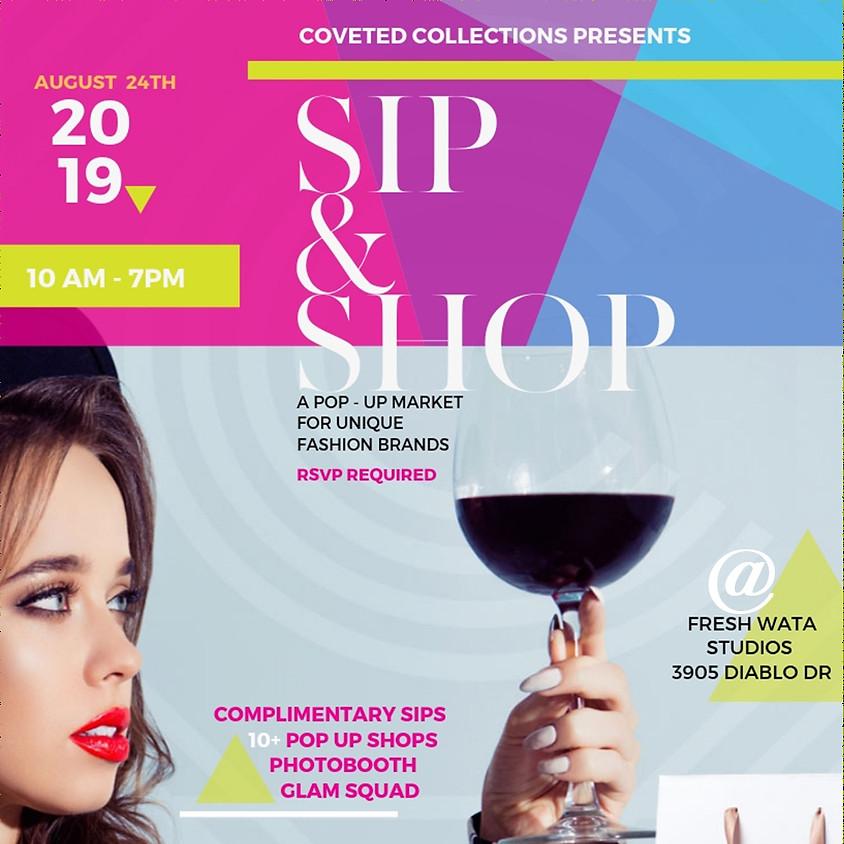 Pop-Up Sip & Shop