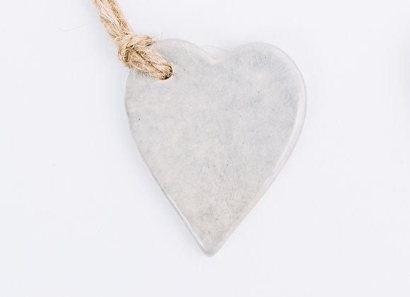 Heart - Grey Frost
