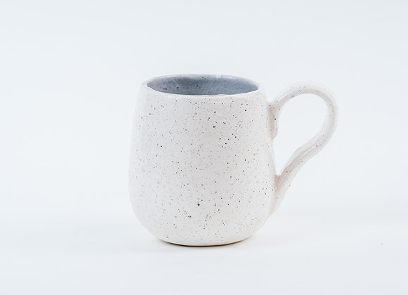 2nd's Mug - Peppered White / Granite