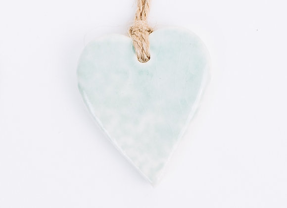 Heart - Arctic Blue