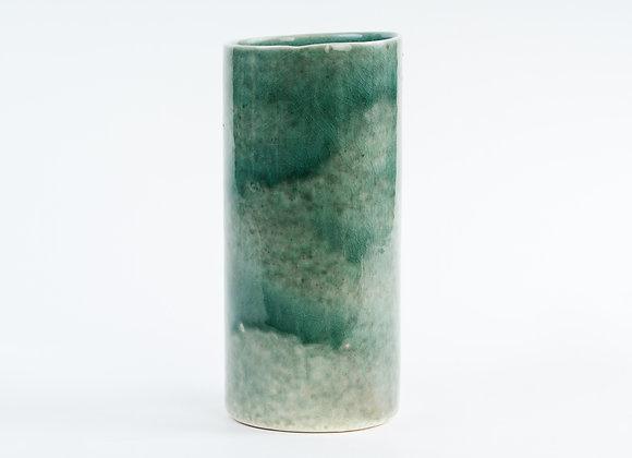 Tall Cylinder Vase - Sage