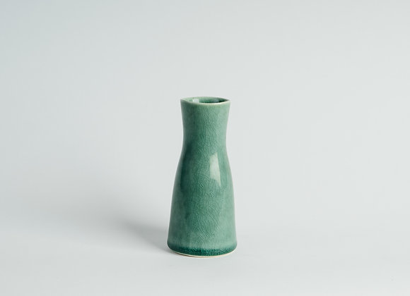 Second Quality Small Carafe Vase - Sage