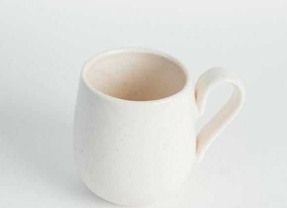 Mug - Peppered White