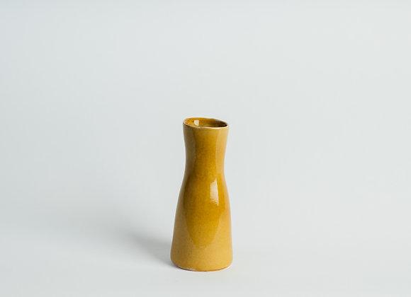 Small Carafe Vase - Ochre